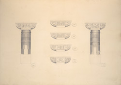 Cave 1, Details of Pillars f.31